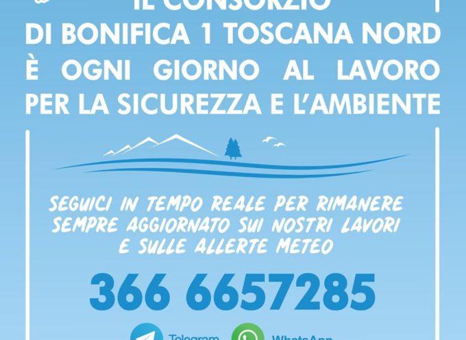 Il Consorzio di Bonifica 1 Toscana Nord è ogni giorno al lavoro per la sicurezza e l'ambiente.