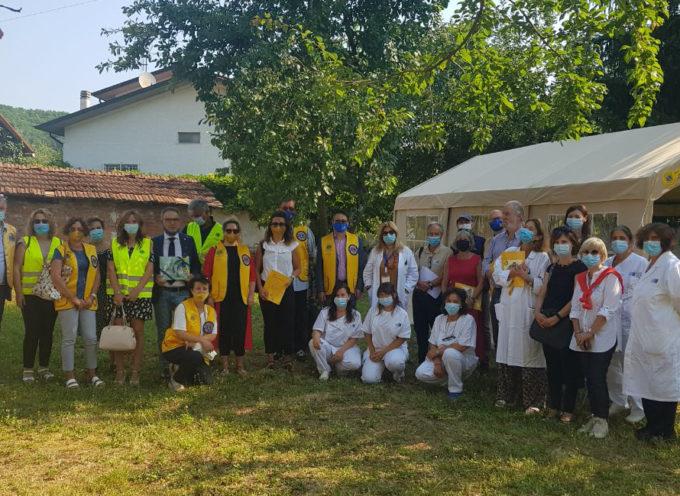 Fornaci di Barga: donazione del Lions Club Garfagnana alla Neuropsichiatria infantile