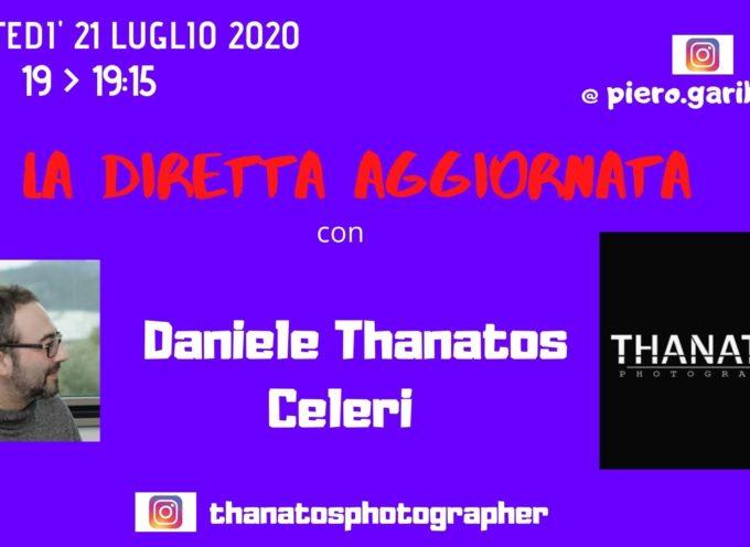 """IL BOUDOIR DI DANIELE THANATOS CELERI A """"LA DIRETTA AGGIORNATA"""""""