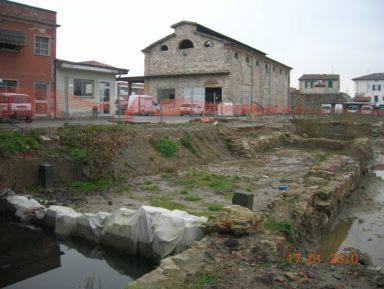"""CasaPound: """"Basta cemento a S. Concordio: salviamo la memoria del porto della Formica"""""""
