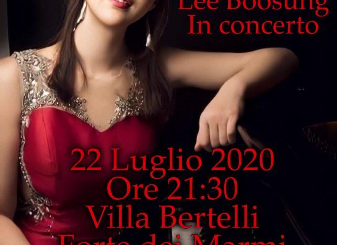 Villa Bertelli – La rassegna L'altra Villa presenta Lee Boosung, vincitrice del concorso nazionale di Villa Oliva di Cassano Magnago, in concerto