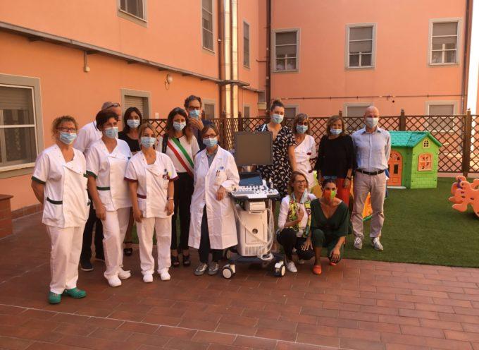 donazione di un ecografo di ultima generazione da parte di Kedrion alla Pediatria della Valle del Serchio