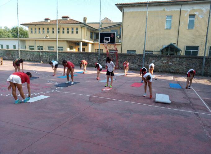 La Polisportiva Volley Capannori lo scorso 17 luglio ha terminato l'attività open fisica/tecnica delle proprie ragazze.