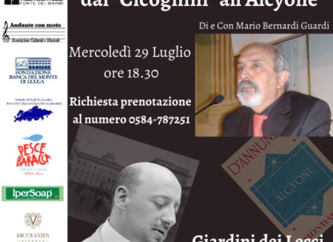 """A L'altra Villa Mario Bernardi Guardi in Gabriele D'Annunzio, dal """"Cicognini"""" all'Alcyone"""