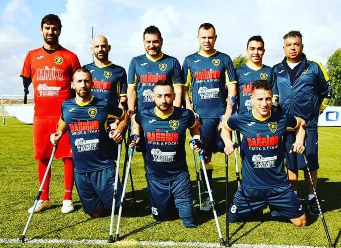 Il Montelabbate campione d'Italia di Calcio Amputati a Bagni di Lucca