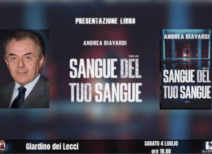 VILLA BERTELLI – Andrea Biavardi presenta il libro Sangue del tuo sangue