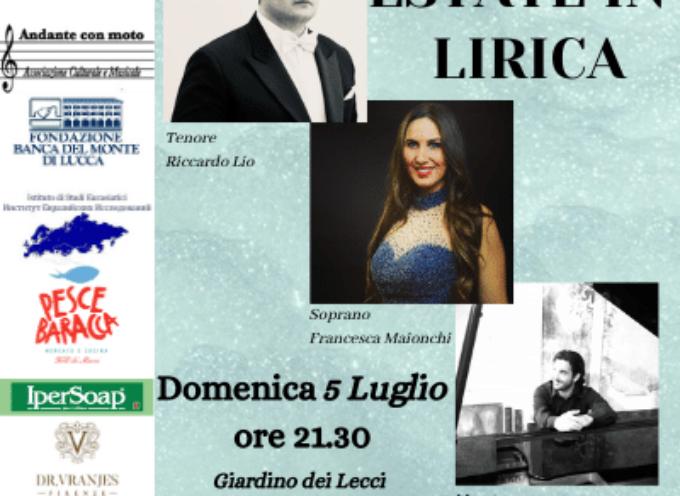 VILLA BERTELLI – Il concerto lirico Estate in lirica