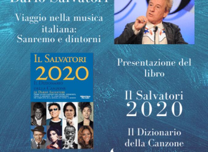 Il critico musicale presenta il libro Il Salvatori 2020 – Sabato 1 agosto alle 21.30 Giardino dei lecci Villa Bertelli