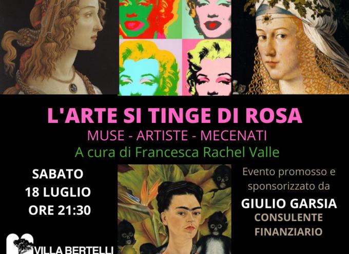 L'altra Villa presenta: L'arte si tinge di rosa. Muse-Artisti-Mecenati