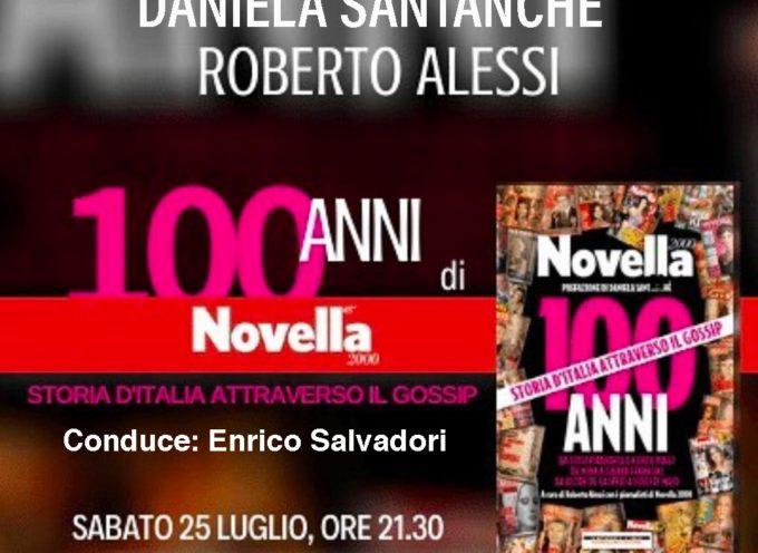 villa bertelli – La storia del Costume italiano nel libro: 100 anni di Novella 2000. Storia d'Italia attraverso il gossip