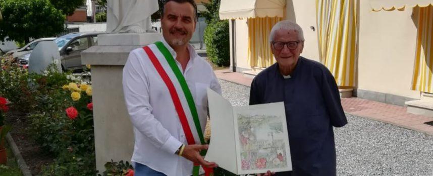 Porcari saluta Arcangelo Vendrame, l'ultimo dei Padri Cavanis rimasto in paese