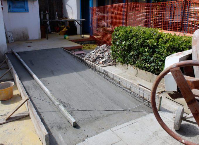 Continua l'abbattimento delle barriere architettoniche a Pescia