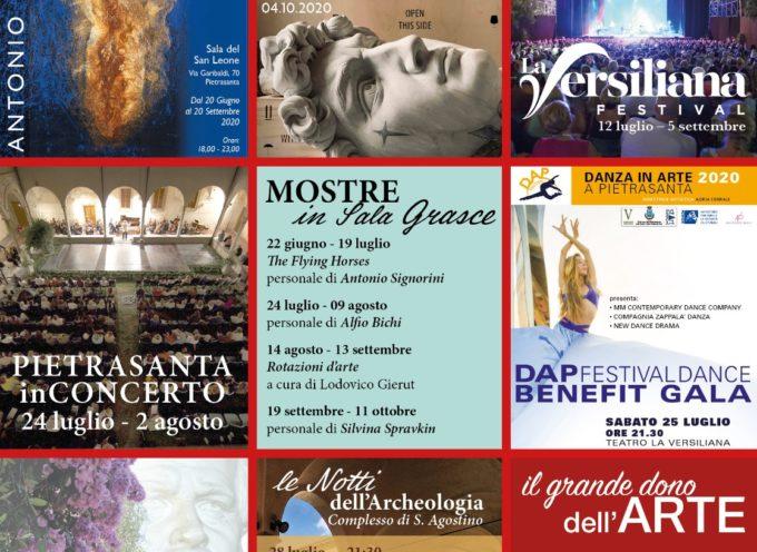 da Pietrasanta in Concerto al Premio Carducci, weekend (e non solo) di grandi eventi