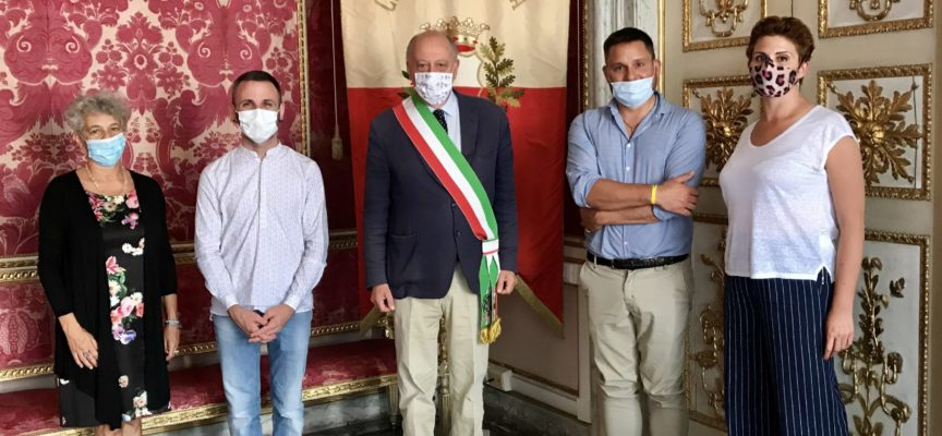 """Tambellini, Giglioli, Vietina e Bianucci hanno incontrato l'educatore Marco Dianda: """"No alle discriminazioni"""""""