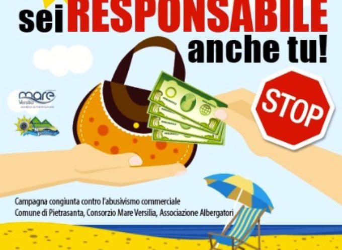 """""""Se compri sei responsabile anche tu"""", campagna contro abusivi in spiaggia"""