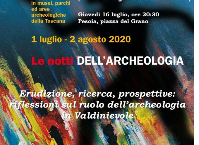 le notti dell'archeologia a Pescia