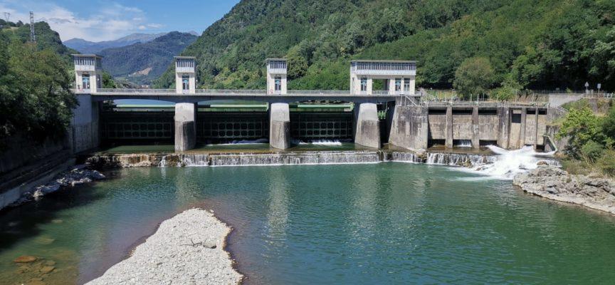 Enel Green Power informa che lunedì 13 luglio inizieranno le operazioni di vuotatura dell'invaso di Borgo a Mozzano