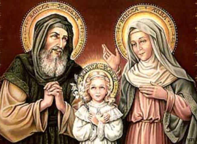 Il Santo del giorno, 26 Luglio: S. Anna e Gioacchino,