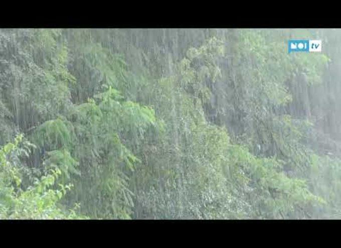 Violento acquazzone in Valle del Serchio