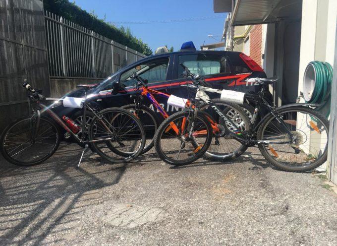 Recuperate biciclette rubate, si cercano i proprietari.