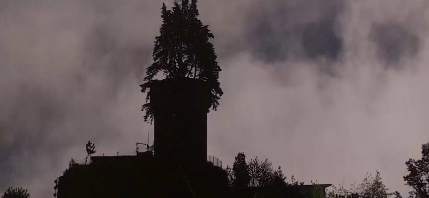 "La "" nebbia "" tutta garfagnina di Tommaso Teora"
