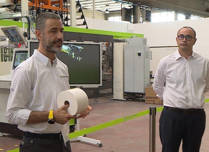 Fabio Perini lancia macchinario per produrre 10mila mascherine (compostabili) al minuto