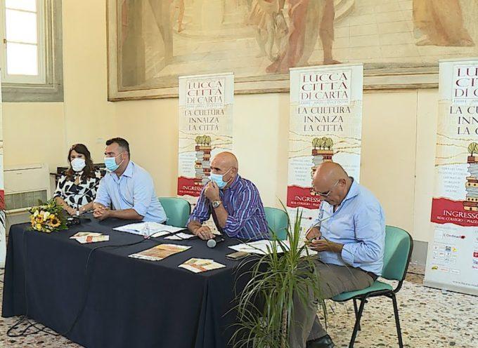 """""""Lucca città di Carta"""" tre giorni dedicati al libro"""