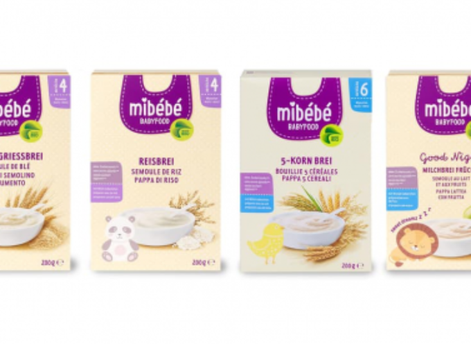 Migros richiama diverse pappe di cereali Mibébé. Allerta anche per i nostri frontalieri