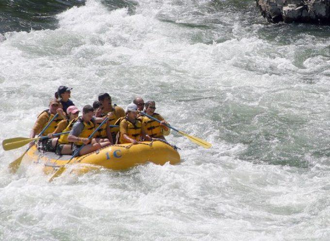 Torna il rafting sul torrente Lima