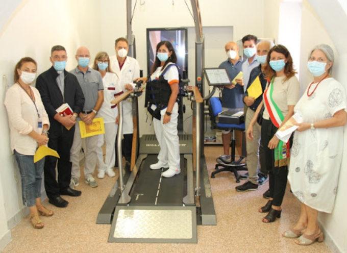 Un nuovo macchinario per il reparto di riabilitazione di Barga