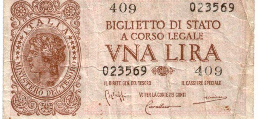 il 24 agosto 1862, entra in vigore nell'Italia unita, una nuova moneta,