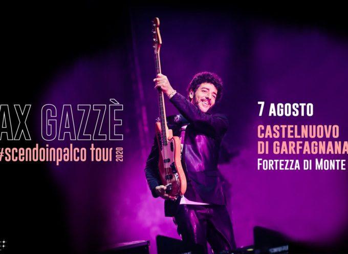 """Fortezza di Mont'Alfonso – Castelnuovo di Garfagnana – Max Gazzè – """"SCENDOINPALCO TOUR"""""""