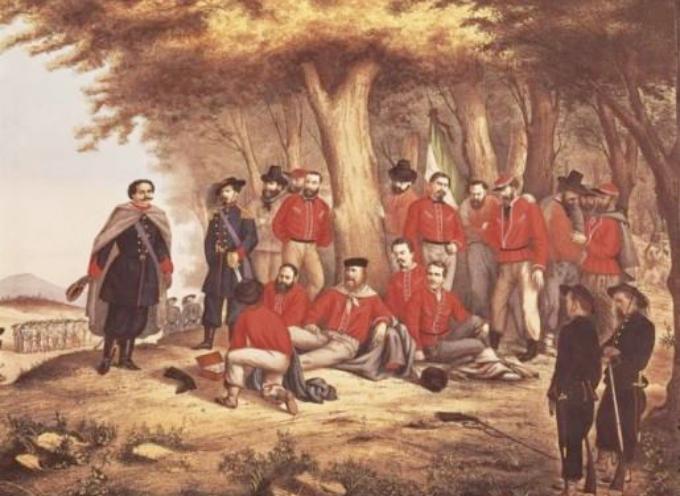 """Garibaldi fu ferito/fu ferito a una gamba…"""""""