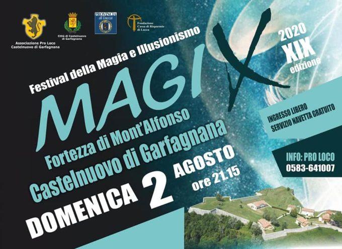 """presso la Fortezza di Mont'Alfonso si terrà lo spettacolo gratuito """"MagiX 2020""""."""