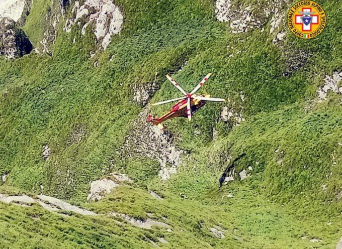 tragedia sul monte fiocca – deceduta l'escursionista caduta nel canalone