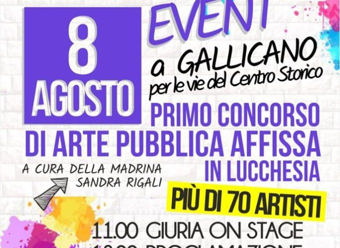 GALLICANO – PASTE UP EVENT!