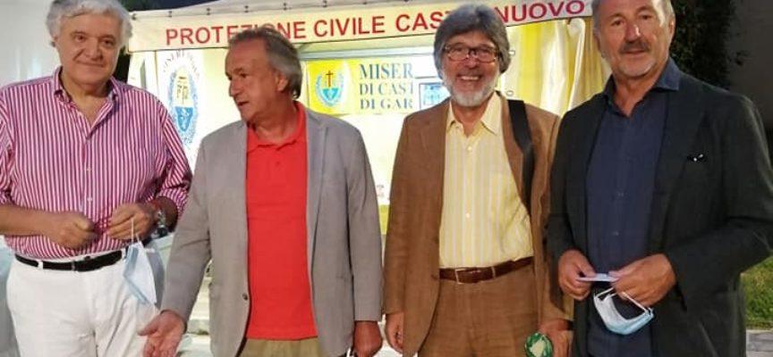 CASTELNUOVO DI G- PRESENTATO IL LIBRO DI BOVENZI  LA STRADA DEL CORAGGIO