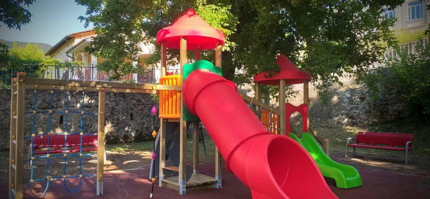 inauguriamo il Parco giochi di Valdottavo riqualificato.