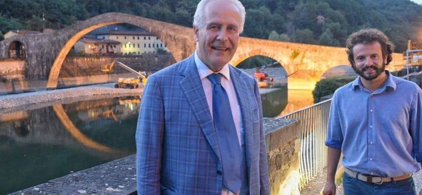 PATRIZIO ANDREUCCETTI – Al Ponte del Diavolo con Eugenio Giani,