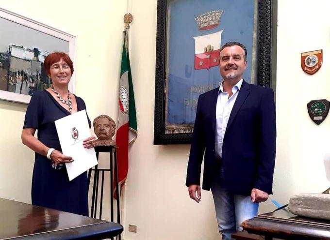 il nuovo questore di Lucca, la dottoressa Alessandra Faranda Cordella, ha fatto visita in municipio al sindaco di Porcari.