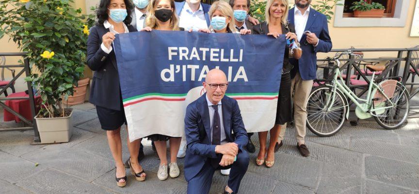 la lista dei candidati al Consiglio Regionale di Fratelli d'Italia