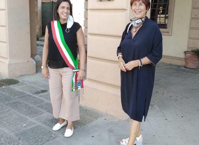 Il Questore Faranda Cordella ha incontrato il Sindaco di Altopascio Sara D'Ambrosio,