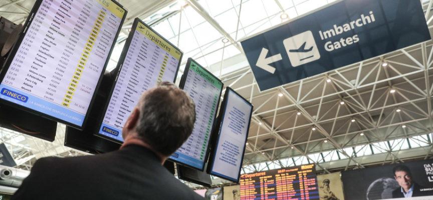 Il traffico aereo quest'anno calerà del 60 per cento