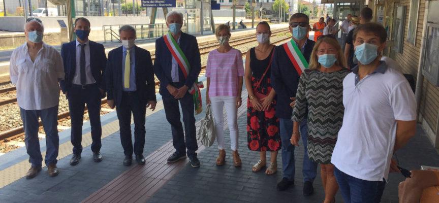 Stazione ferroviaria: conclusa la prima parte dell'intervento di riqualificazione