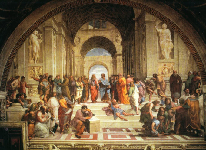 insegnamenti filosofici dalle opere di Raffaello Sanzio. Una conferenza a Palazzo Mediceo