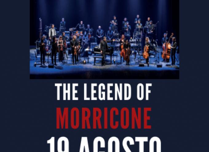 The legend of Morricone Tributo alle grandi musiche del Maestro Ennio Morricone Ensemble Symphony Orchestra diretta da Giacomo Loprieno