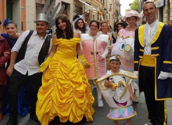 Querceta – Pro Loco e Gruppo per Servire – Sabato 22 agosto, ore 21.00,  parata con 70 figuranti, tutti i personaggi di Walt Disney