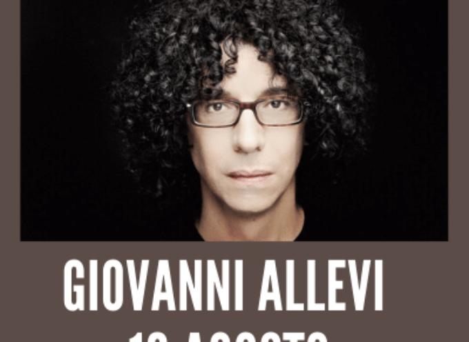 Giovanni Allevi con Piano solo in concerto a Villa Bertelli