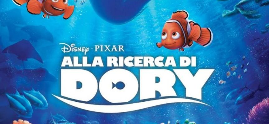 """Versiliana Cinema, in programma il film d'animazione  """"Alla ricerca di Dory"""""""