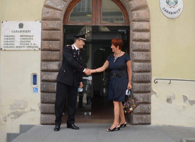 Il saluto del Questore ai Carabinieri di Lucca